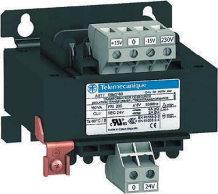 Schneider Electric 320VA Panel Mount Transformer, 215V ac,