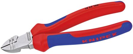 Knipex 160mm With Bevel Type Cable Cutter For Hard Wire, Medium Wire, Soft Wire, 2.5mm cutting capacity