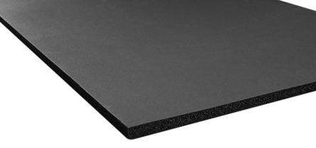 Black Nitrile Rubber Tank Insulation, 2m x 500mm x 25mm