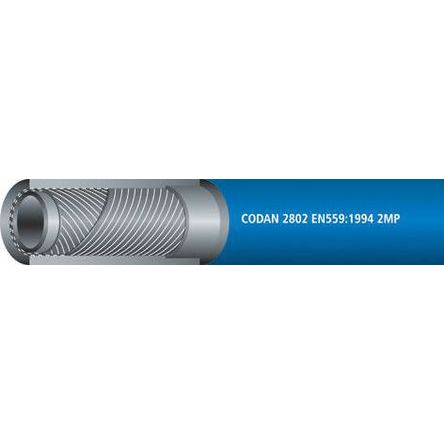 RS PRO 25m Long Blue Hose Pipe, Applications Oxygen, 6.3mm Inner Diam.