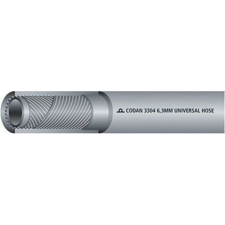RS PRO 25m Long Grey Hose Pipe, Applications Air, Water, 12.7mm Inner Diam.