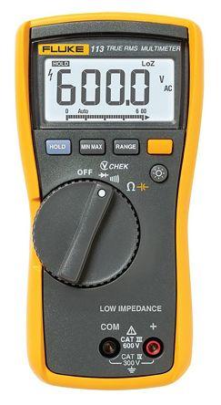 Fluke 113 Handheld Digital Multimeter 600V ac 600V dc 60kΩ