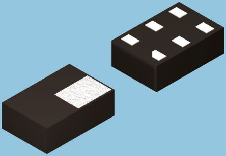 ON Semiconductor NC7SP126L6X Non-Inverting 3-State Buffer, 6-Pin MicroPak