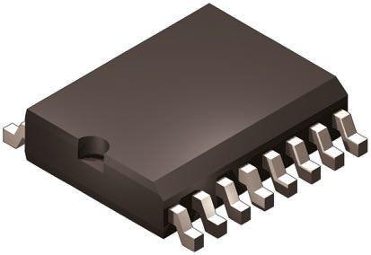AD1851RZ, Audio Converter DAC 16 bit-, 12.5Msps ±1%FSR Serial, 16-Pin SOIC W