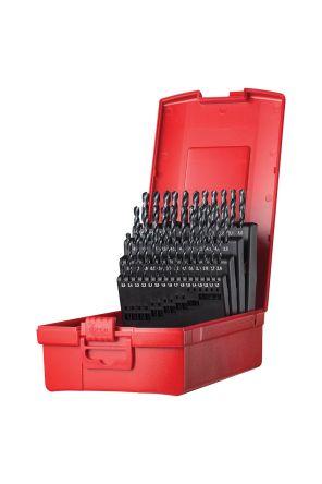 Drill Gauge Metric Standard-Made in Stainless Steel Range 1-13 mm Global Tools