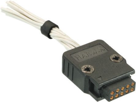 M80-8801098 - Female Connector Housing - M180, 2mm Pitch, 10 Way, 2 Row product photo