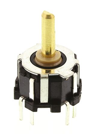 Alps Alpine, RKJXM1015004, 8 Way Joystick Switch Stick, Momentary