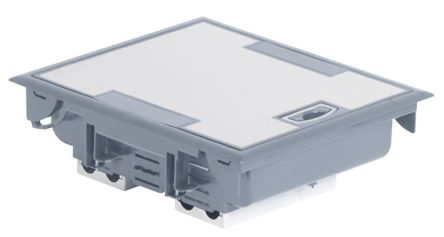 Cav485 Legrand Floor Box 4 Compartments 340 Mm X 230mm