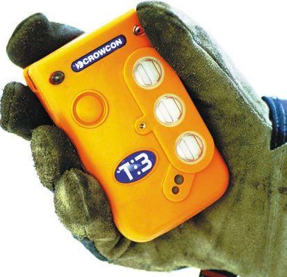 T3-AGAAAIAH-A-001-Z Carbon Monoxide, Flammable, Hydrogen Sulphide, Oxygen Gas Monitor, LCD - Backlit product photo