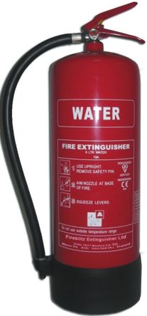 Fireblitz 9L Water Fire Extinguisher for Combustible Solids (A)