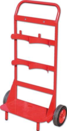 Fire Extinguisher Trolley, Red product photo