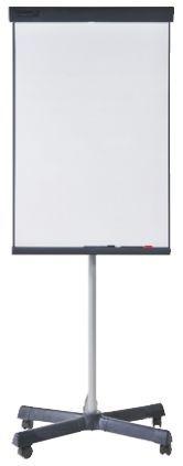 Flip Chart Easel, Castors product photo