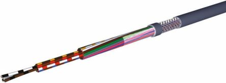 CAE Groupe CAE HIFLEX-CY 4 Core CY Control Cable 0.25 mm², 50m, Screened