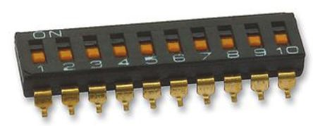 10 Way Surface Mount DIP Switch 10P product photo
