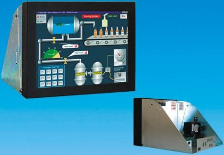 KME 12.1in LCD Industrial Monitor, SVGA Graphics, VGA I/F Panel Mount