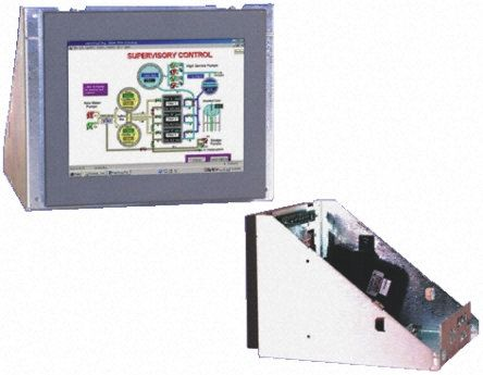 KME 8.4in LCD Industrial Monitor, SVGA Graphics, VGA I/F Panel Mount