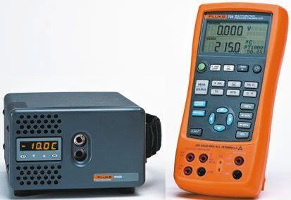FLUKE-725/9102/RS Drywell Calibrator, 24mA DC, 0 → 30V dc
