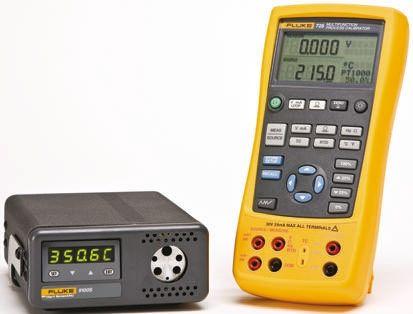 FLUKE-725/9100/RS Drywell Calibrator, 24mA DC, 0 → 30V dc