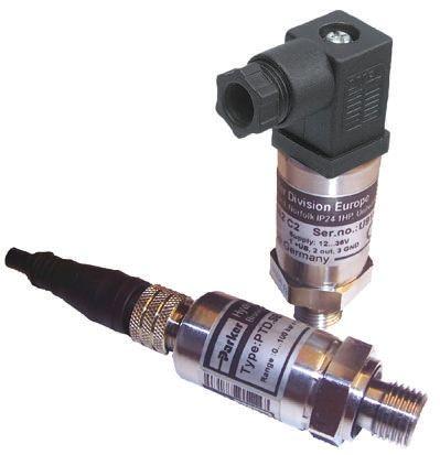 Hydraulic Pressure Sensor PTDVB0251B1C1, Micro DIN, 0 -> 5V dc, 0bar to 25bar product photo