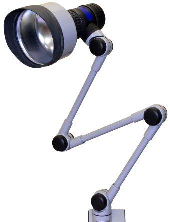 RS PRO LED Retrofit Lamp Machine Light, 230 V, 60 W, Articulated, 830mm Reach, 750mm Arm Length