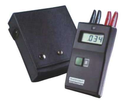 Rhopoint A210-091 PP3 Ohm Meter, Maximum Resistance Measurement 200 Ω, Resistance Measurement Resolution 100μΩ,