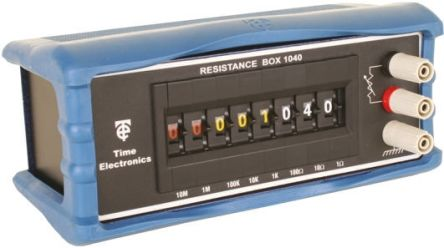 Time Electronic 1040 Decade Box, Decade Box Type Resistance, Resistance Resolution 1Ω, Best Maximum Resistance Accuracy
