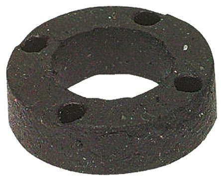 15/32in 1/4in Ring Shock Mount 51806 Neoprene +180°F -20°F 2 -> 10lb 13/16in product photo