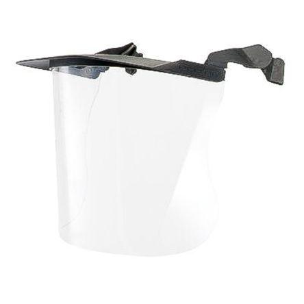 Clear tough polycarbonate multi visor