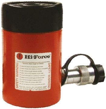 Hi-Force Single Portable Hydraulic Cylinder - Hollow Pulling Type HHS202, 23t, 50mm