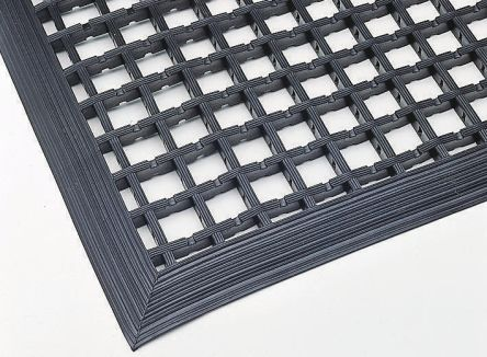 Entramat Anti-Slip, Door Mat, PVC Scraper, Indoor, Outdoor Use, Black, 1m 1.5m 12mm product photo