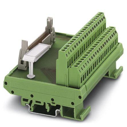 2281050 | Schnittstellenmodul Flachbandkabel, DIN-Schienen, Stecker ...
