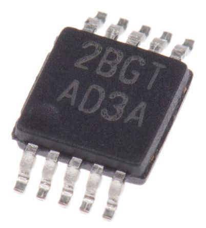 ISL59420IUZ Intersil, Video Amp, 420MHz 1462V/μs Single Ended O/P, 10-Pin MSOP