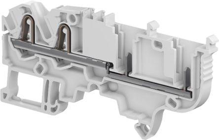 Entrelec Combi Plug, SNK Series , 0.2 → 4mm², 1 kV, 24A, Spring Clamp Termination, Grey, Single Level