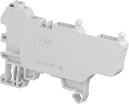 Entrelec Combi Plug, SNK Series , 0.2 → 4mm², 800 V, 29A, Screw Termination, Grey, Single Level