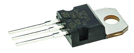 STMicroelectronics TIP121 NPN Darlington Pair, 5 A 80 V HFE:1000, 3-Pin TO-220