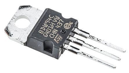 STMicroelectronics BDW94C PNP Darlington Pair, 12 A 100 V HFE:100, 3-Pin TO-220
