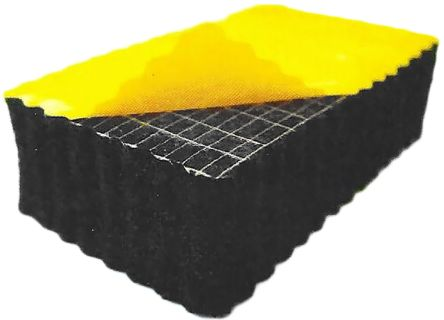 RS PRO Nitrile, PVC Soundproofing Foam, 1m x 1m x 6mm