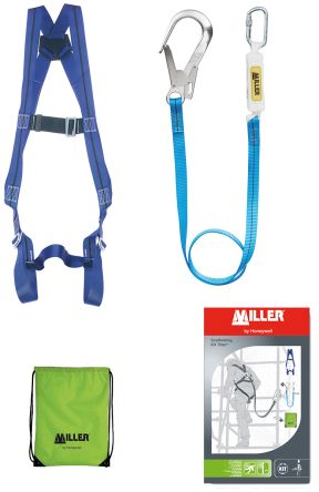 Safety Harness Kit 1031433 Containing Bag, Harness, Lanyard-2m, Shock-Absorbing Lanyard product photo