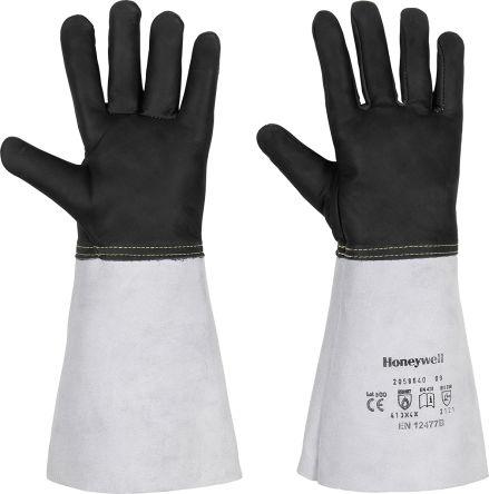Black Leather Welding Gloves 9