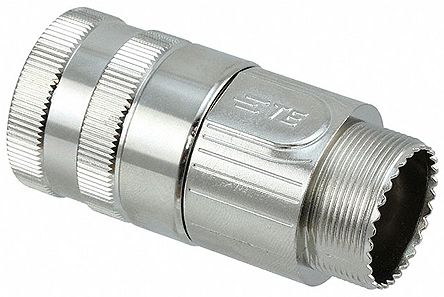 TE Connectivity, CHCSize M25 Straight Backshell, For Use With Circular Hybrid Connector Inserts