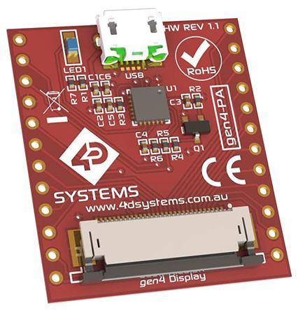 4D Systems gen4-PA, Gen4 Programming Adapter Board
