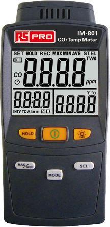 Carbon Monoxide Gas Detector, Backlit LCD product photo