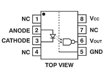 HCPL-7611-000E Avago Technologies | Broadcom, HCPL-7611 ...