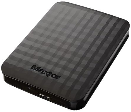 Maxtor M3 Black 500 GB External Hard Drive