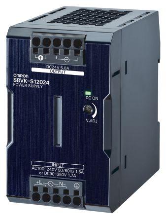 DIN Rail Power Supply, 120W, 24V dc/ 5A