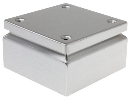 304 Stainless Steel Wall Box IP66, 120mm x 150 mm x 150 mm product photo