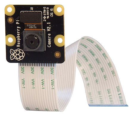 Raspberry Pi Camera Module, CSI-2, 3280 x 2464 Resolution