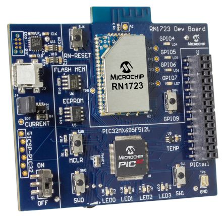 RN1723 WiFi IoT Client Development Board