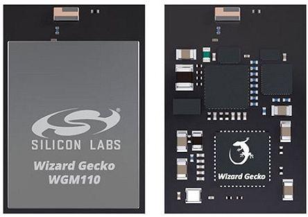 Silicon Labs WGM110A1MV2 2 → 3.8 V, 2.7 → 4.8 V WiFi Module