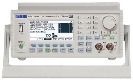 TGP3122 Pulse Generator 1 mHz -> 25 MHz (Double Pulse), 1 mHz -> 50 MHz (Pulse) RS Calibration product photo